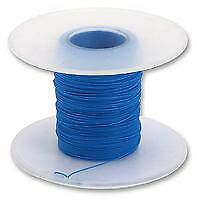 Wire, Solid, Wrapping, PVDF, Blue, 30 AWG, 0.05 mm², 1640 ft, 500 m