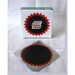 Rema Tip Top No.6 Red Edge Premium Inner Tube Repair Patches 116mm 10 pack