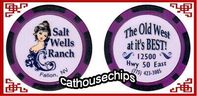 Salt Wells Ranch Brothel chip Fallon, Nevada Legal Cathouse - Whorehouse