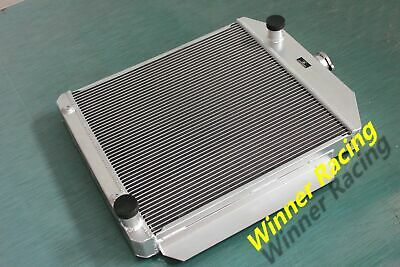 56mm aluminum radiator Ford Lowboy chopped w/flathead V8 engine 1932-1939
