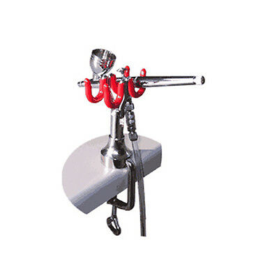 Harder & Steenbeck Table Edge Airbrush Stand - Holds Two Airbrushes