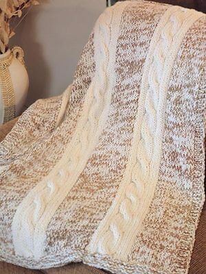 Magnificent Aran Throw Knitting Patterns Embellishment Easy Scarf