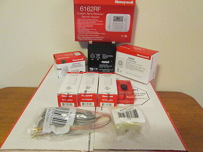 Honeywell Vista-20P Alarm Kit 6162RF Keypad 5816 5800PIR-RES 5834-4 Wireless NIB