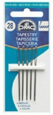 DMC Tapestry Needles size 16, 18, 20, 22, 24, 26 or sharp