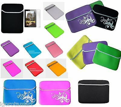 "Case Cover Bag 6 7 8 9.7 10 10.2 11.6 12 13 14 15.6 17"" Inch Tablet Sleeve Pouch"