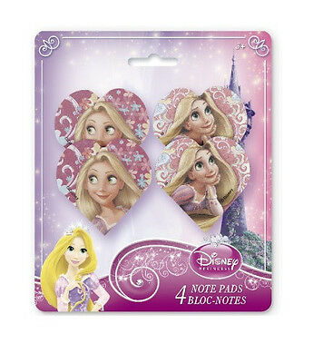 Disney Princess TANGLED ~ (4) Mini NOTE PADS ~ Birthday Party Supplies Favors