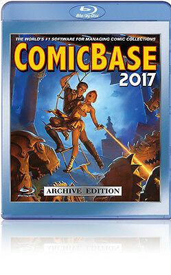 ComicBase 2017 Blu-Ray Archive Edition - Comic Book Collection Software - NEW