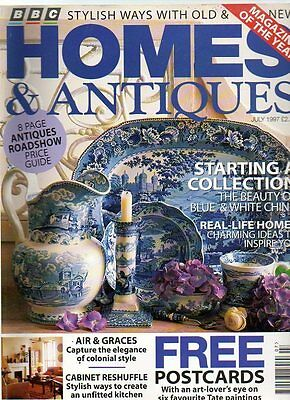 HOMES AND ANTIQUES MAGAZINE - July 1997