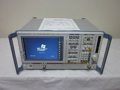 Rohde & Schwarz ZVB8 300 kHz - 8GHz Vector Network Analyzer - CALIBRATED!