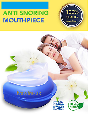 Nhs Sleep Defender Pro - Anti-Snoring Mandibular Mouthpiece - Apnoea Aid New