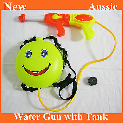 Super Soaker Outdoor Plastic Squirt Backpack Water Gun with Tank Kids Toy