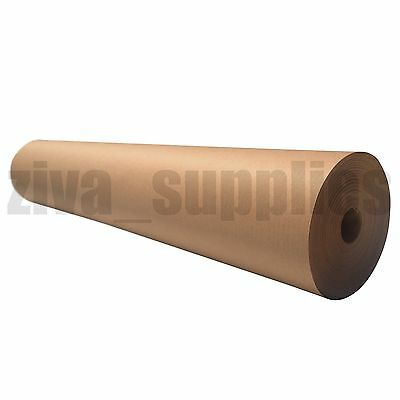 BROWN KRAFT WRAPPING PAPER~ 500mm Roll ~ 50 metres Heavy Duty Strong Parcel