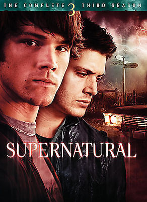 Supernatural: The Complete Third Season DVD NEW SEALED