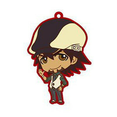 Tiger and Bunny Kotetsu Kaburagi Rubber Key Chain Anime Licensed NEW