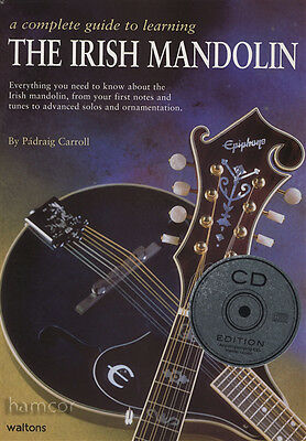 A Complete Guide to Learning The Irish Mandolin Music Book/CD