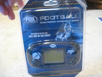 FOOTBALL ELECTRONIC HANDHELD GAME BY EB EXCALIBUR,INC