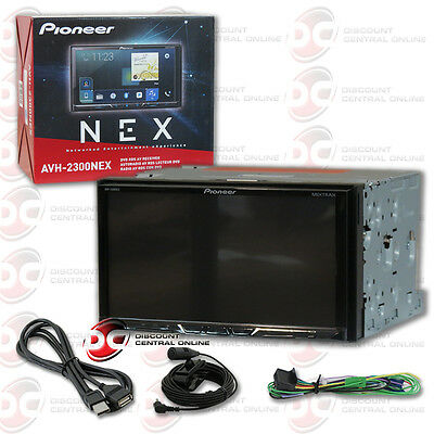 "Pioneer Avh-2300Nex 2-Din 7"" Dvd Cd Receiver Bluetooth Apple Carplay & Android"