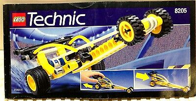 LEGO INSTRUCTION  MANUAL BOOK ONLY - 8205 - VINTAGE TECHNIC / BLAST OFF DRAGSTER