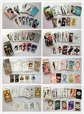 One Piece Wanted Naruto Gintama Fairy Tail K-ON! Shugo Chara Playing Cards Poker