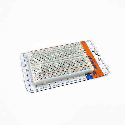 Mini Universal Solderless Breadboard 400 Contacts Tie-points 8.5*5.5CM