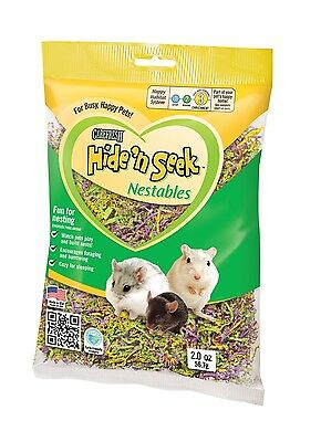 CAREFRESH HIDE N SEEK NESTABLES SMALL ANIMAL BEDDING hamster rabbit nesting