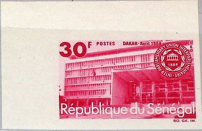 SENEGAL 1968 373 U 299 Inter Parliamentary Union Meeting Dakar Cong. Building **