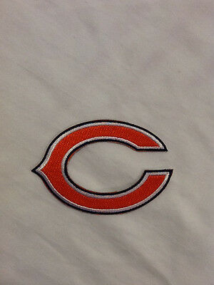 Chicago Bears Logo NFL Football Hat Shirt Jacket Jersey Embroider Iron On Patch