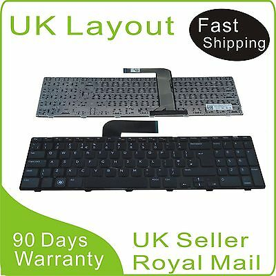 NEW Dell Inspiron 15R N5110 M5110 keyboard black UK layout