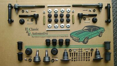 Suspension Rebuild Kit ball joints tie rods bushings Camaro Firebird Nova front