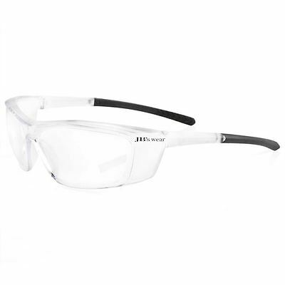 12 Pack Safety Glasses Wrap Around Spec  Aus Safety Standards Clear