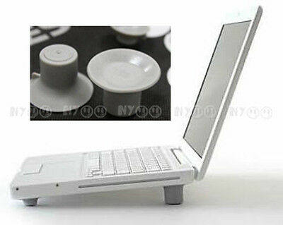 4 x Laptop Cooling Feet Skidproof Pad Cooler Stand for HP Dell Acer Lenovo