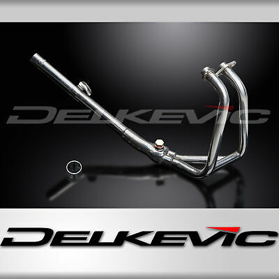 Kawasaki Ninja 250R 08-13 Stainless Steel 2-1 Exhaust Downpipes Oem Compatible