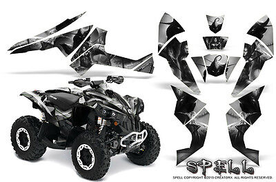 Can-Am Renegade Graphics Kit by CreatorX Decals Stickers SPELL B