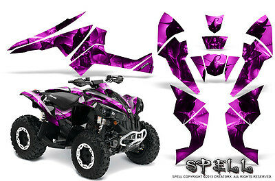 Can-Am Renegade Graphics Kit by CreatorX Decals Stickers SPELL P