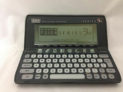 Teklogix Psion Series 3a Handheld Computer + 128KB Card ~ Pocket PC Palmtop PDA