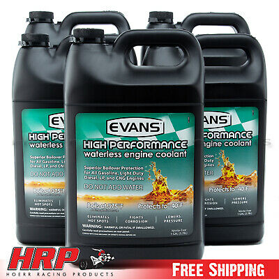 Evans Waterless Coolant-High Performance (5 Gallons) EC53001
