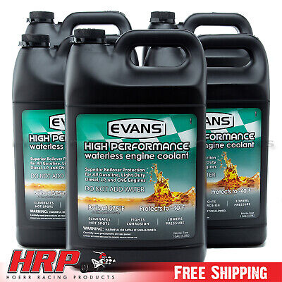 Evans Waterless Coolant-High Performance (5 Gallons w/Funnel) EC53001