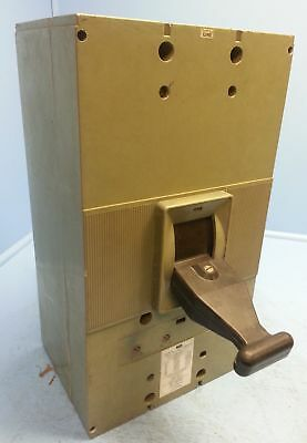 FPE Federal Pacific NP632000 2500 Amp Breaker 2000A Trip NP031200 Shunt NP Frame