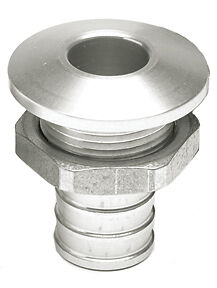 "HOT PRODUCTS - Sortie pompe de cale - alu - silver - 3/4"" (19 mm)"