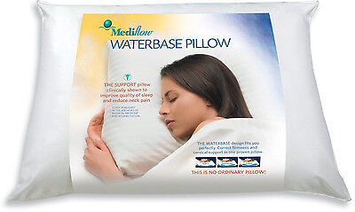 """Mediflow Pillow Water Base Neck Back Support  20"""" x 28"""" (Free shipping)"""