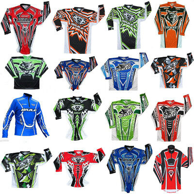 Kids Wulfsport Jersey Shirt Motocross Quad Youth JUNIOR LT KX CRF YOUTH TRIALS