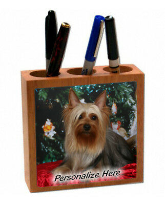 Silky Terrier   # 1   Personalized  Pencil and Pen Holder