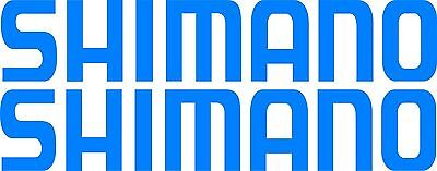 Shimano Stickers 2 x 400 x 75 Quality Marine Grade Stickers