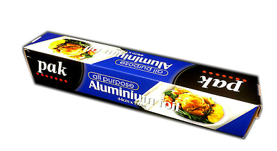 One roll all purpose catering aluminium  foil food wrap 44cm x 150m  new VELTA