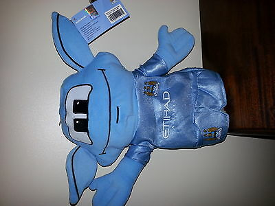 "Manchester City ""moonchester"" Mascot  Wood Golf Headcover. Brand New."
