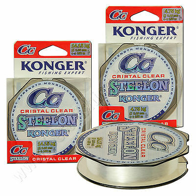 Fishing Line Clear Invisible Mono Strong Carp Pike Perch Pole 8lb 6lb Konger