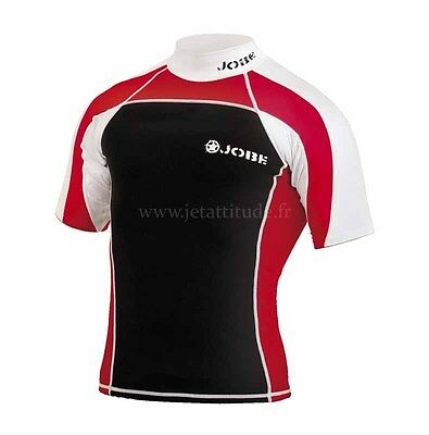 Promo JOBE - Rash Guard Néoprene Red - Taille S - neoprene 0,5mm