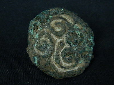 Ancient Bactrian Bronze Seal 300 BC