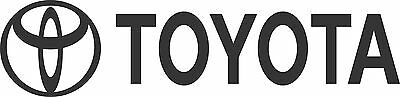 Toyota Sticker 900 x 100 Quality Stickers UV protected