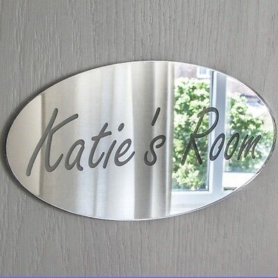Personalised Door Name Plaque Boy or Girls Bedroom Room Sign